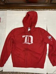 Reebok Youth Xl Detroit Red Wings Nhl Hockey 2009 Winter Classic Hoodie Zippered