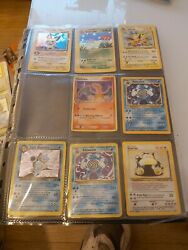 Big Collection Pokemon Cards 38 Holo's Inc Base Set Almost Compleet
