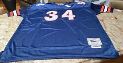 Nwt Mitchell And Ness Nfl Walter Payton Chicago Bears Football Jersey Men's 58 3xl