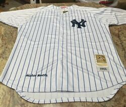 Nwt Mitchell And Ness Mlb Mickey Mantle New York Yankees Baseball Jersey Men's 54
