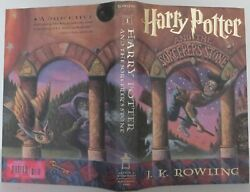 J K Rowling / Harry Potter And The Sorcererand039s Stone Signed 1998 2101013
