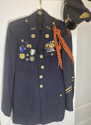 Us Army Mmi Marion Military Institute Class A Dress Full Uniform Formal W/ Hat