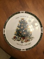 """Twas The Night Before Christmas Serving Tray By Portmeirion-13"""""""