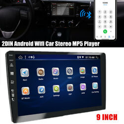 9 Screen Double 2din Android Wifi Car Auto Stereo Audio Radio Mp5 Player 2+32gb