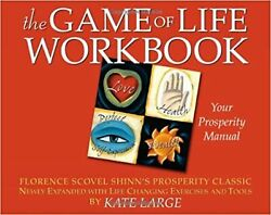 The Game of Life Workbook Paperback by Kate Large Florence Scovel Shinn NEW $24.99