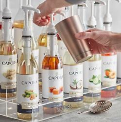 4-pack 750ml Quality Flavor Drink Beverage Bar Service Coffee Cocktail Syrup