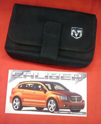 Nice 2007 Dodge Caliber Owners Manual Set With Glovebox Case