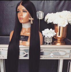 Freedom Couture Yeezy Black Human Hair Wig 30 Inch