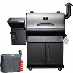 Z Grills Zpg-700e Premium Xl Stainless Steel Wood Pellet Grill W/cover
