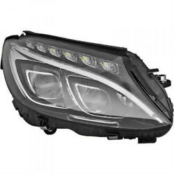Headlight Right For Mercedes C Class W205 Year 14-