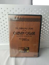 The Fabulous Story Of The Cuban Cigar Dvd History Du Puro New Sealed Rare