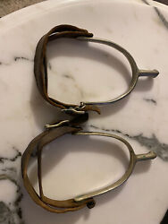 August Buermann Pair Us Calvary Spurs - Marked U.s. Over A.b. -