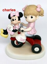 Precious Moments There's Always Room For A Friend 139009 - Girl Tricycle Minnie