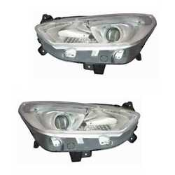 Halogen Headlight Set Left And Right H7 For Ford S-max Galaxy