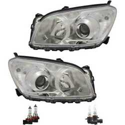 Headlight Set Right And Left H11/hb3 For Toyota Rav 4 Iii _a3_ Incl. Lamps