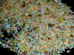 100 Natural Ethiopian Welo Fire Opal Rough 2000 Ct Undril Loose Beads Lot
