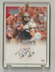 Nfl Drew Brees New Orleans Saints Autographed Topps Rookie Football Card - Rare