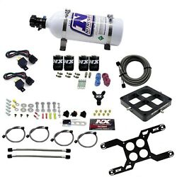 Nitrous Express 66047-05 Dual Stage Billet Crossbar Plate System