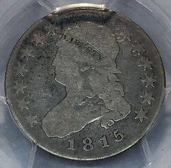 1815 Capped Bust Quarter Browning 1 Pcgs G 04
