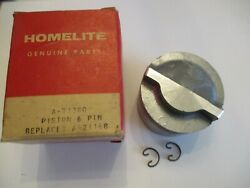 New Homelite 20mcs Piston, Pin And Clips     Pn A-71380, A-71168