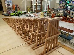G Scale Model Train Garden Trestle Redwood 24 Pieceup To 12use Lgb Lionel