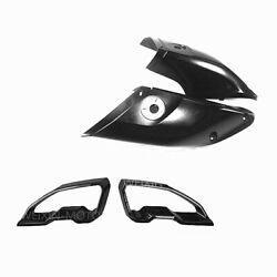 For 2016-2019 Yamaha Mt-10 Fz-10 Black Front Ram Air Intake Duct Cover Fairing