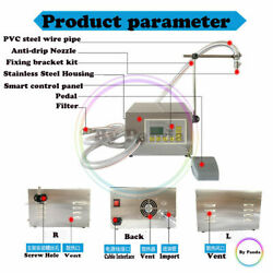 Liquid Filling Machine Pneumatic For Various Oils Food,chemical,catering 8l/min