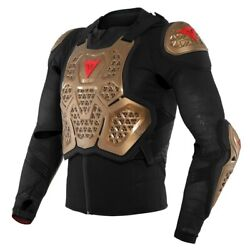 Dainese Mx 2 Safety Jacket Copper Off Road Motocross Bike Adjustable Body Armour