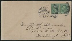 Malack 542 First Day Cover Vf Pair On Cover Much R..more.. K0846