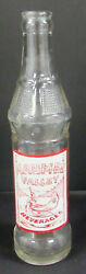 Maumee Valley Indian Acl Soda Bottle / Near Mint