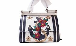 Dolce And Gabbana Women Mini Bags Dauphine Patch Ancor White