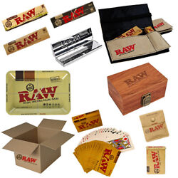 Raw Fantastic Box Tobacco Cards Wallet Ashtray Tray Paper Case Rolling Booklets