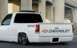 Chevy Ss Tailgate Truck Lettering 350 400 454 1500 Stickers Full Package