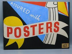 Sign Painters Own Office Trade Sign 1920s Art Deco Hand Painted Style Reference