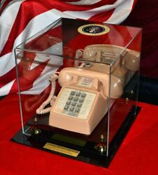 President Ronald Reagan Vintage White House Telephone In Case, Rare And Works