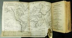 1821 Voyages Round The World Magellan Captain Cook Anson Illustrated 200yearsold