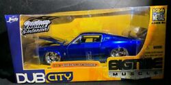 Bigtime Muscle 1967 Shelvy Gt 500kr Blue Andbull Jada Toys Scale 124 Very Rare
