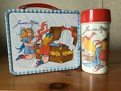 Vintage Junior Miss Lunchbox And Thermos