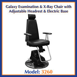 Galaxy Examination And X-ray Chair W/ Headrest And Electrical Base 3260