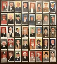 Alick Ritchie Straight-line Caricatures Player Cigarette Cards 1926