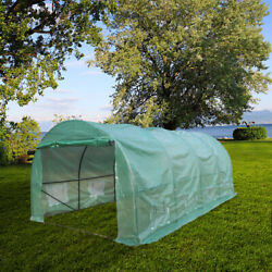 Premium Greenhouse 12'x10'x7' Large Walk-in Hot Green House Plant Gardening Tent