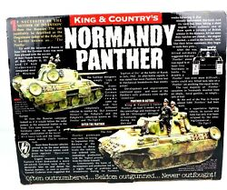 King And Country Ws072 Ww2 German Summer Normandy Camouflage Panther Tank Crew