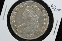 1832 Capped Bust Half Dollar Large Letters Hairlines 03b5