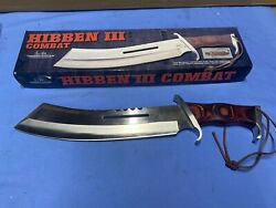 United Cutlery Gil Hibben Iii Combat Knife Gh5008 With Leather Sheath