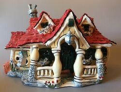 Blue Sky Heather Goldminc Disney Mickey Mouse Toontown House By Clayworks