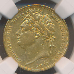Great Britain George Iv Gold Sovereign 1822 Ngc Xf45