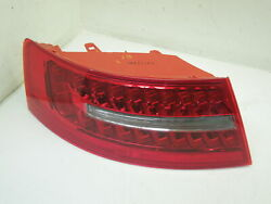 Audi A6 C6 Fl Saloon Ns Left Rear Wing Led Tail Light Cluster New 446-1915l