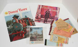 Vintage Disneyland Tickets Disney News Guide Great Moments With Mr. Lincoln
