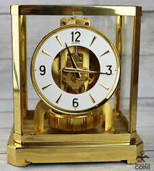 Local Pick Up Only Jaeger-lecoultre Atmos Classis Swiss Clock Model 528 Rare