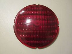 Vintage Yankee Red Glass Lens Classic Car Truck 4.5 Inches